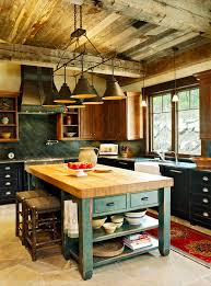 Rustic Kitchen Designs by Stunning Kitchen Designs With Two Toned Cabinets