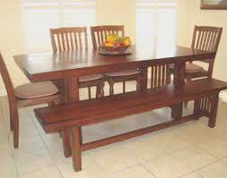Decorating Ideas For Dining Room Table Bench Top Bench Seating Dining Room Table Wonderful Decoration