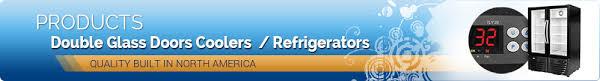 Double Glass Door by Double Glass Door Coolers U0026 Refrigerators We Have You Covered