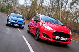 renault red ford fiesta zetec s red edition vs renault clio gt line pictures