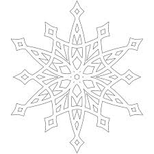 25 snowflake coloring pages ideas