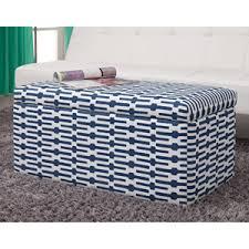 blue and white ottoman cheap storage ottoman blue find storage ottoman blue deals on line