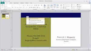 microsoft office business card template sxmrhino com