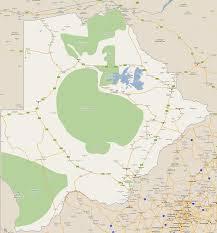 Botswana Map Footiemap Com Botswana 2012 2013 Map Of Top Tier Botswana