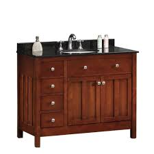 42 Inch Bathroom Cabinet 38 46 In Vanities With Tops Bathroom Vanities The Home Depot