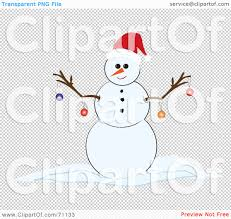 royalty free rf clipart illustration of a happy snowman with