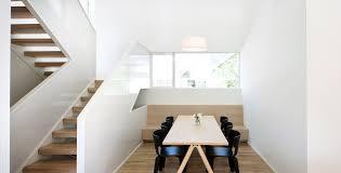Modern Dining Room Chairs In Muuto Split Table And Hem S Bento Chairs In Dining Room Of Saint