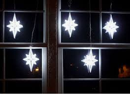 led light strand window decor