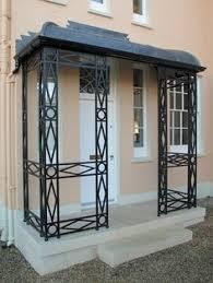 wrought iron porch columns kadiz