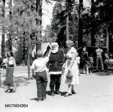 stuff from the park santa u0027s village in glorious black and white 1956