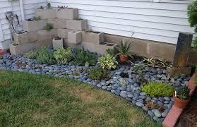 lawn u0026 garden cool backyard rock garden design for small space