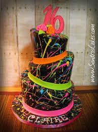 nickelodeon i love the 90 u0027s fondant cake decor by piescakeshop