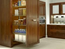 build a tall kitchen pantry next to a refrigerator u2014 decor trends