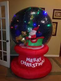 Air Blown Christmas Decorations Gemmy Prototype Airblown Inflatable Christmas Red M M 81086 Ebay