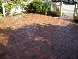 Red Brick Patio Pavers by Brick Paver Patio Design Ideas With Marvelous Curved Brick Patio