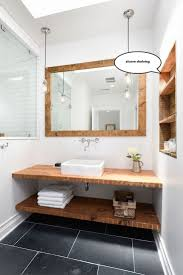 best ideas about oak bathroom pinterest brown modern check out these modern bathroom shelving ideas from top interior designers style your with floating open shelves for next bath remodeling