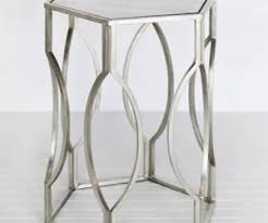 Silver Accent Table Archive With Tag Silver Accent Table Fernandotrujillo