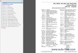 john deere 850 900hc 950 1050 tractors tm1192 pdf