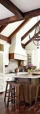 french country kitchen beamed ceiling inspiration pinterest