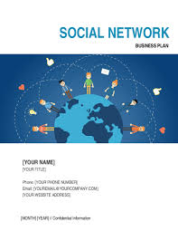 social network business plan template u0026 sample form biztree com