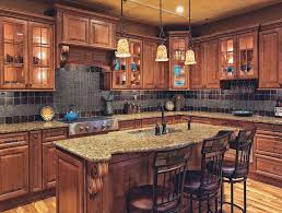 Mocha Kitchen Cabinets by Cabinet Design Cabinet Floor Wood Color Combo Sink In Island