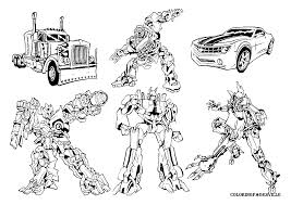 female transformer coloring pages