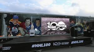 nhl centennial fan arena nhl unveils fan arena in toronto