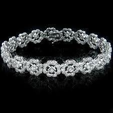 diamond bracelet women images Gold womens diamond bracelet 2 49ct jpg
