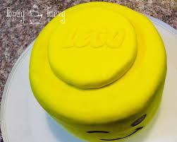 lego head birthday cake ashlee marie