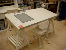 Drafting Table Storage Wonderful Drafting Table Ikea Decor For Storage Style The