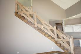 Wall Banister Baby Nursery Terrific Rustic Stair Railing Trend Idea Rustic