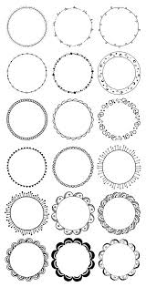 Decorative Line Clip Art Lines Clipart Circle Pencil And In Color Lines Clipart Circle