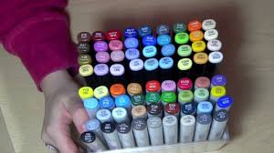 copic sketch 25th anniversary set review youtube
