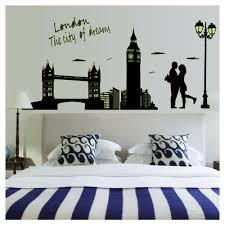 london the city dreams wall sticker home decoration creative
