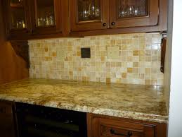 granite countertops with tile backsplash gallery including