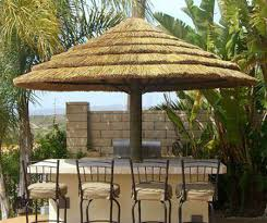 Gazebo With Bar Table Thatched Roofing For Gazebos And Sheds Gorgeous Backyard Designs