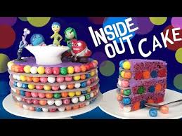 inside out cakes inside out cake how to cook that reardon disney pixar