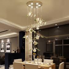 Spiral Pendant Ceiling Light Led Living Room Pendant Lights Modern Minimalist Ceramic