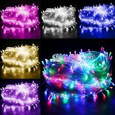 flashing christmas light bulbs 400 led 50m string fairy lights l holiday christmas xmas garland