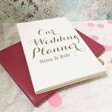 wedding planner journal personalised wedding planner journal livi and