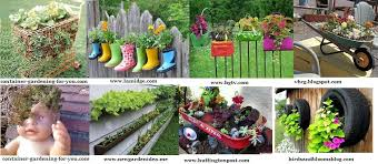 Pot Garden Ideas Container Garden Ideas