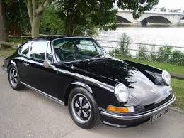 Porsche 911 Black - classic chrome porsche 911 2 4t 1972 p p black