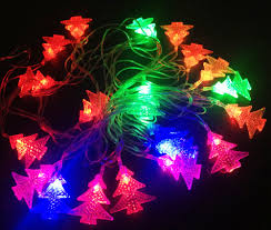 C7 String Lights Outdoor decoration heart steel string lights clear christmas light