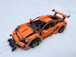 technic porsche 911 gt3 rs winter ready porsche 911 gt3 rs technic mindstorms model