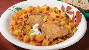 cuisine d automne épaule de veau braisée aux légumes d automne recettes iga courge