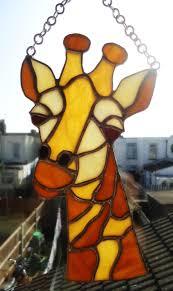 art glass giraffe ring holder images Stained glass giraffe https www jpg