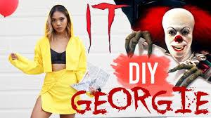 diy georgie it movie halloween costume for girls nava rose