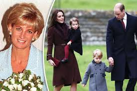 princess diana death kate middleton joins prince william and