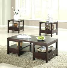 3 piece living room table sets coffee and end table set 3 piece table set coffee table sets near me