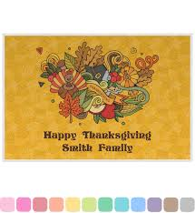 thanksgiving melamine plates happy thanksgiving placemat laminated personalized baby n